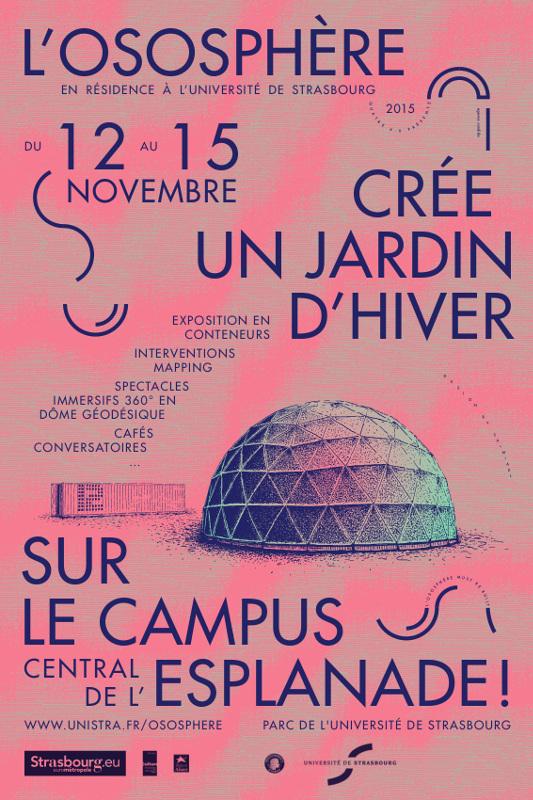 L 39 ososph re cr e un jardin d 39 hiver sur le campus universit de strasbourg - Residence les jardins de l universite ...
