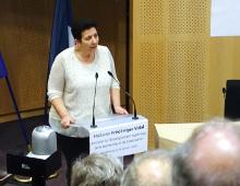 Visite de Frédérique Vidal à l'Université de Strasbourg lundi 29 janvier 2018