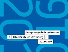 Publication des Temps forts de la recherche 2015/2016