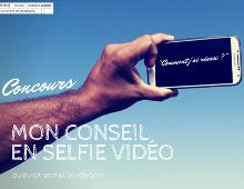 Concours Alumni : mon conseil en selfie vidéo