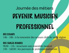 Journée professionnelle autour des métiers de la musique