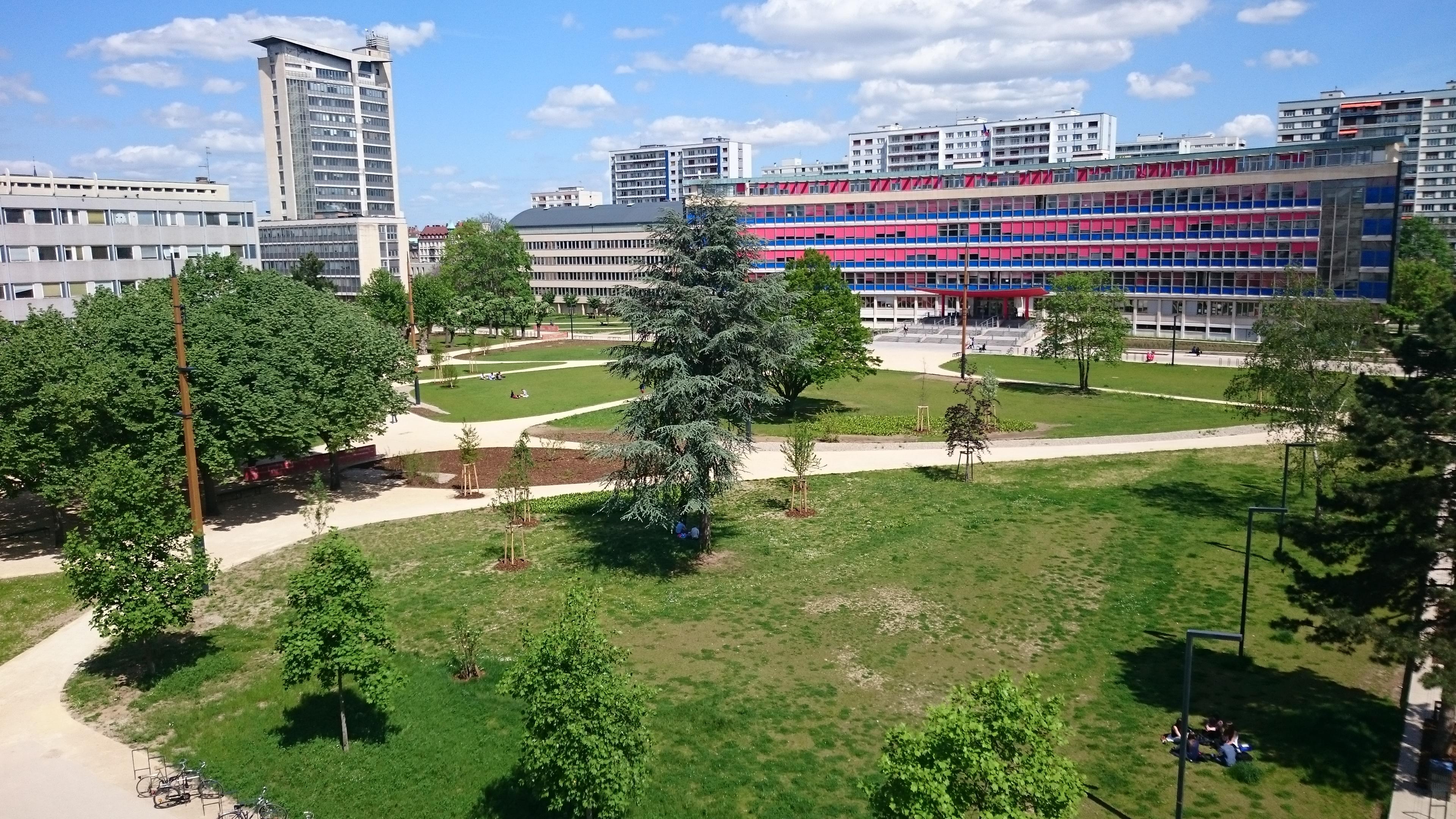 Universit de strasbourg les chantiers en cours for Jardin universitaire