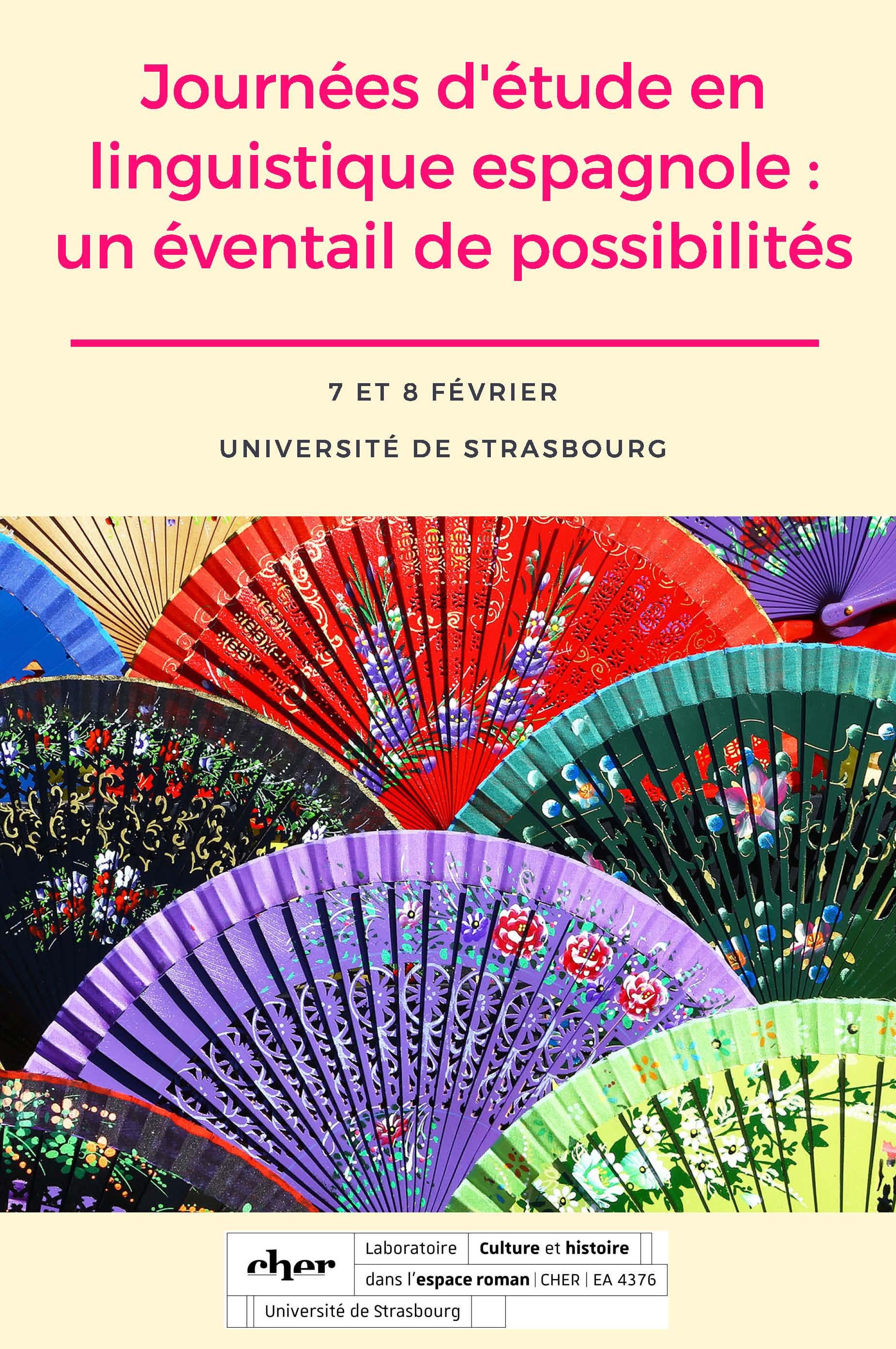 15e8d04cda4c Journées d'études en linguistique espagnole -