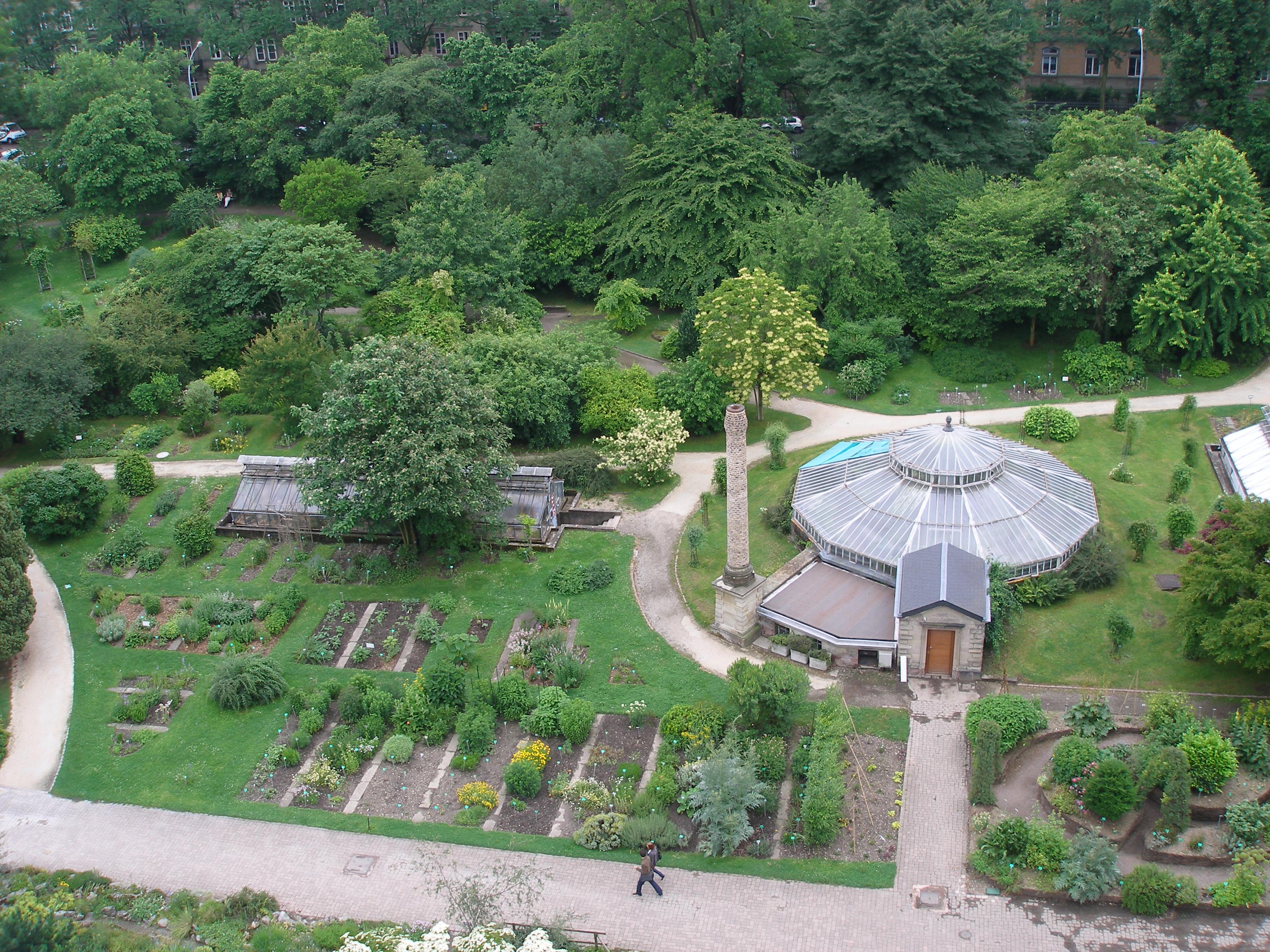 Université de Strasbourg Soirée au jardin botanique